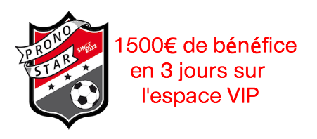 1500€ de benefice aux paris sportifs